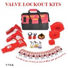 Safe D-Lock Valve LockOut Kits