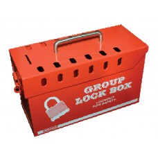 Safe D-Lock Metal Group LockOut Box