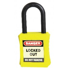 Safe D-Lock Non-Conductive Lockout Padlock