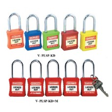 Safe D-Lock Safety Lockout Padlock