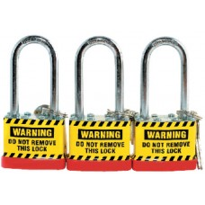 Safe D-Lock Steel Laminated Padlock