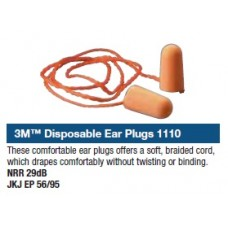 3M™ Disposable Ear Plugs 1110